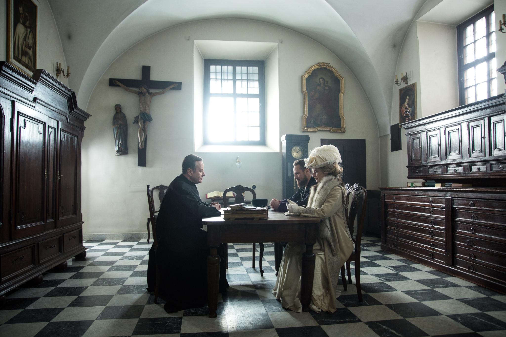 Paweł Małaszyński - Jan, Magdalena Cielecka - Konstancja, Dariusz Kwaśnik - Ksiądz Adam